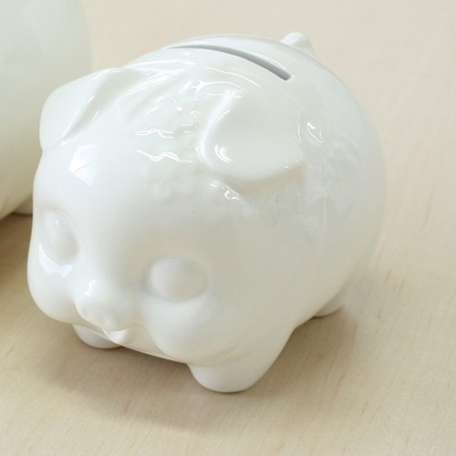 KOBARU- painting series - piggy bank <86061>