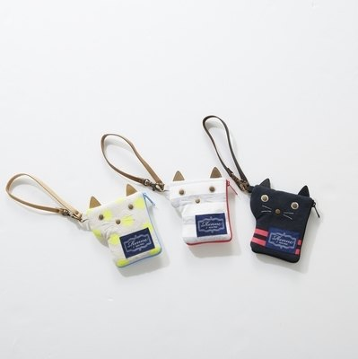 Renne cat travel card key bag SHF