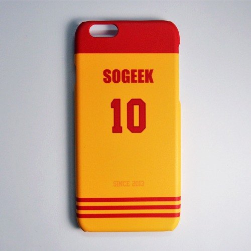 SO GEEK phone shell design brand THE JERSEY GEEK jersey back number Customized paragraph 020