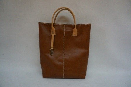 Full leather tote bag feel a (color out of)