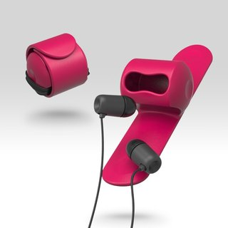 Snappy earphone butler-Pink#PinkoiENcontent