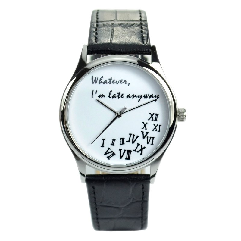 Crazy Roman Watch (White) - Unisex Watch