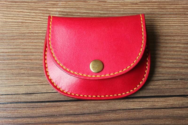 [Mini5] Hand stitching coin purse (red)