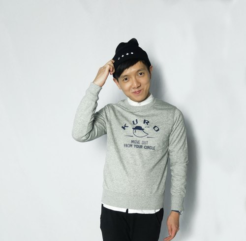 KA-RU Series # 2 Sweater pattern simple street kid large hedging long-sleeved T-shirt / sweater