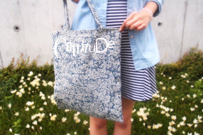 [Cattitude] original design cotton linen burlap bag Type Tote bag printing text, paragraph 4