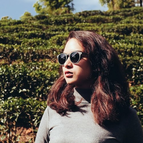 AUSSA's sunglasses || Sun Round - brown