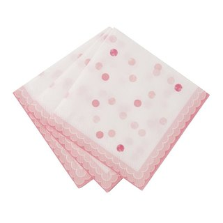 """Feelings § pink napkin"" Britain Talking Tables Party Supplies"