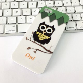 Pet Owl Print Soft / Hard Case for iPhone X,  iPhone 8,  iPhone 8 Plus,  iPhone 7,  iPhone 7 Plus iPhone 6/6s,  iPhone 6/6s Plus,