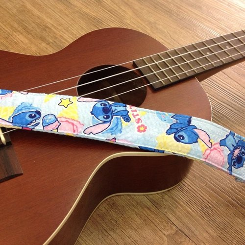 [Stitch] Ukulele strap finished * 1, can be customized