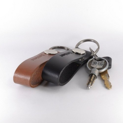 Valentine 's Special / Key Ring Leather Leather Long Version Sweet Sweet