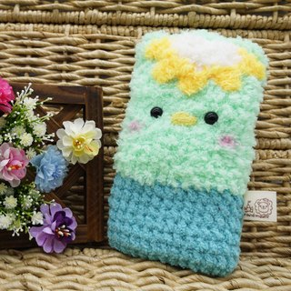 Marshmallow animal cell phone pocket - Kappa