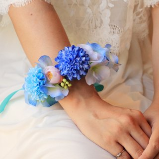 Artificial flowers flower wrist [series] cute little ball Ju