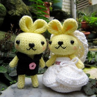 Rabbit. Wedding Doll (customized part of your wedding dolls)