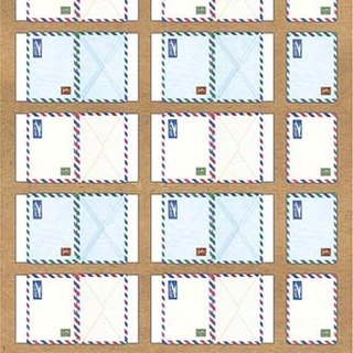Labels Index stickers - airmail ♥ ACTIVE ♥