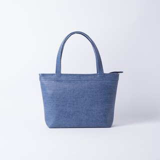 Casual Tote Bag Denim / Tannin Blue