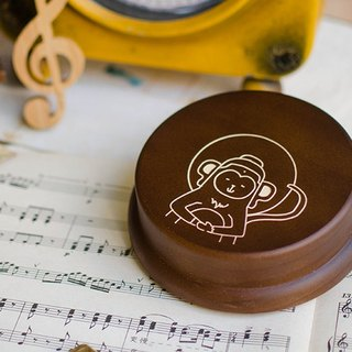 [Birthday Gift, Christmas Gift] 12 Zodiac Monkey Customization // Music Box