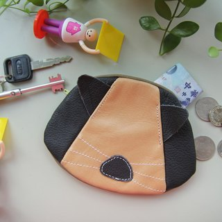 + Zoom- cat CAT Purse (Zhiwu Dai) (Small) - cowhide leather