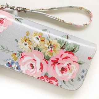 bouquet. Waterproof long clip / wallet / purse / purse
