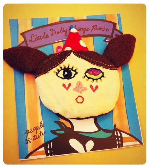 LITTLE DOLLY CHANGE PURSE!-NO.01