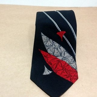 Japanese classic retro vintage tie wind leaves