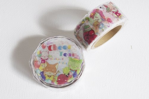 EGG cheerleaders lace roll-type paper tape