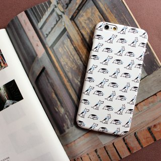 ▷ Umade ◀ DOGGY DOGGY DOGGY [iPhone7 (i7, i7plus, i6, i6s, i6plus, i6splus, i5se, i5s, i5c) / Android (Samsung, Samsung, HTC, Sony) Phone Case / Accessories - matte hard shell - artists ] Naho Ogawa