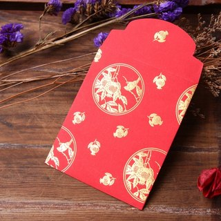 Red Envelope/Gold Stamping in Magpie/Small Size