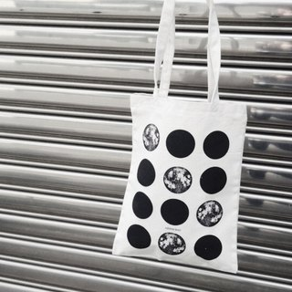Month / tote bag / canvas bag /
