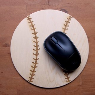 【Yellow Cedar】Baseball Mousepad