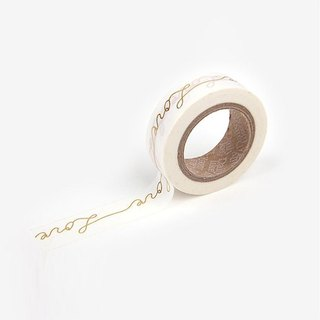 Dailylike-Single roll of paper tape 39-Love (gold thread), E2D22398