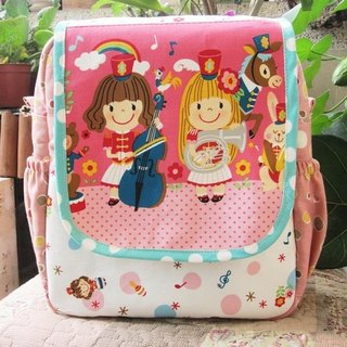 Doll princess band backpack