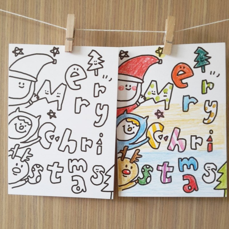 野餐s搭配_Nings聖誕卡#3 想像力是你的超能力! - 設計師 NINGs   Pinkoi