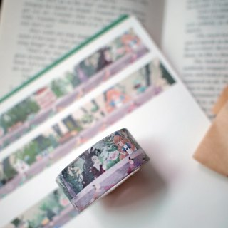 Mad tea party fairy paper tape * * Alice in Wonderland Chapter VII