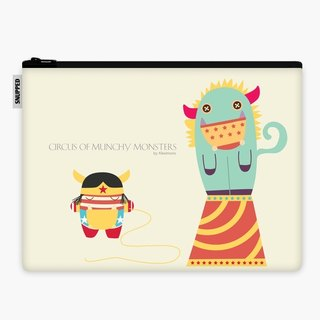 SpaceSuit - Document Pouch - Monsty and Wonder Girl
