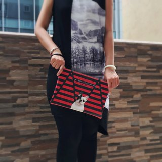 Trendy Dog Clutch handbag by Shuki Design