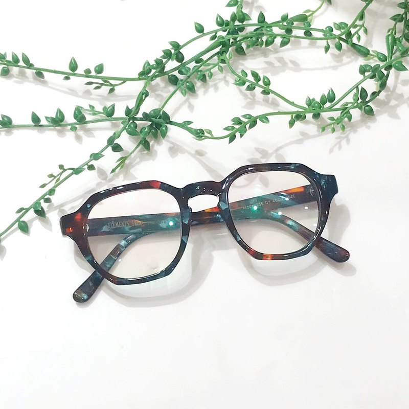 96ceb4aa12c8 Hexagon eyeglasses frame eyewear made in Japan - Designer elements ...