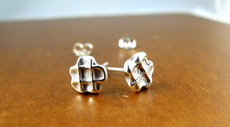Tasty muffin Silver Earrings