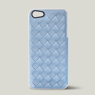 [Price Down Price Drops ↓] ivicase - iPhone 5 / 5S leather phone case - light blue knit []