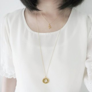 Bubble - mermaid prince series (k gold plated necklace) - Cpercent handmade jewelry