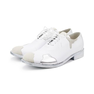 White Desert M1087 leather sneakers