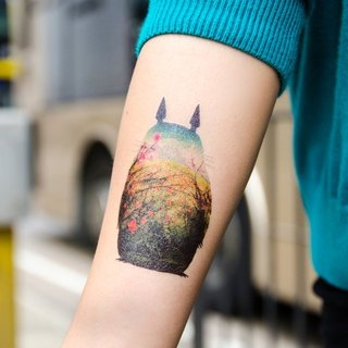Dottinghill Tattoo Sticker / My Neighbor Totoro