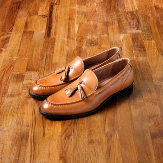 Vanger elegant beauty ‧ classic gentleman Suflix Loafers Va187 classic brown