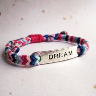 Midsummer Night's Dream Lucky Knitting Wrist Bracelet (optional color)