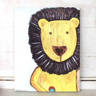 Copy frameless painting | bulk lion (can choose other stores as FIG)