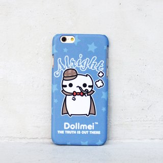 Dollmei iPhone 6 Phone Case Holmes cute blue cat