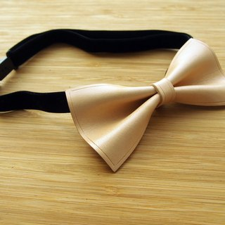 Handmade vegetable tanned leather colors tie