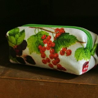 [T - C} when fruit handmade purse can hang the bag when the key ring