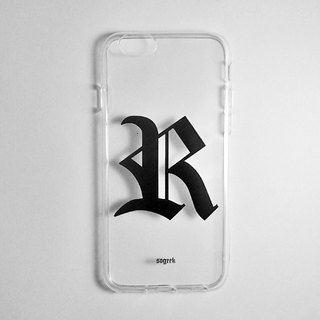 SO GEEK phone shell design brand THE OLD ENGLISH GEEK trend Goethe subsection (transparent)