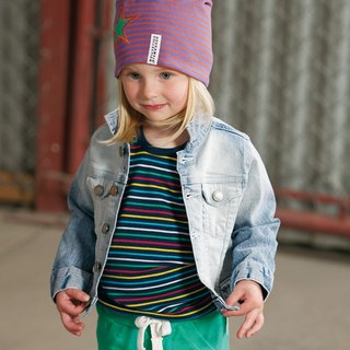 [Sweden] made of organic cotton classic denim jacket (for 4Y-10Y) limited edition children's clothing