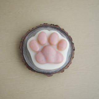 Shea Butter Cat Paw Soap (For Body) - Hinoki